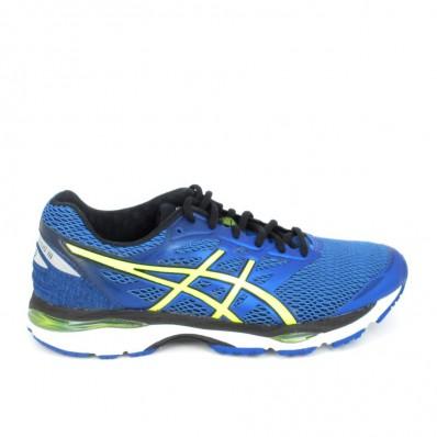 asics bleu running