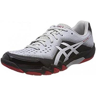 best sneakers 0e430 55777 chaussures asics homme indoor gel blade 6 noire