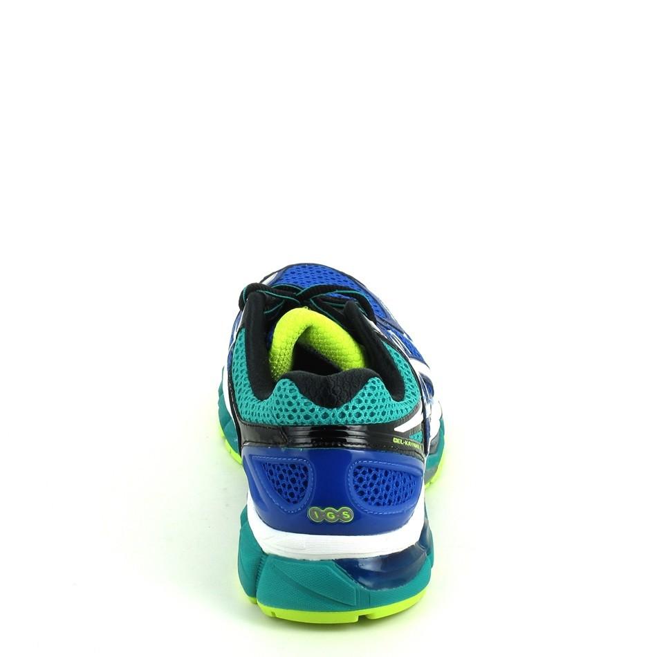 asics bleu vert