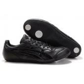 chaussure asics cuir noir