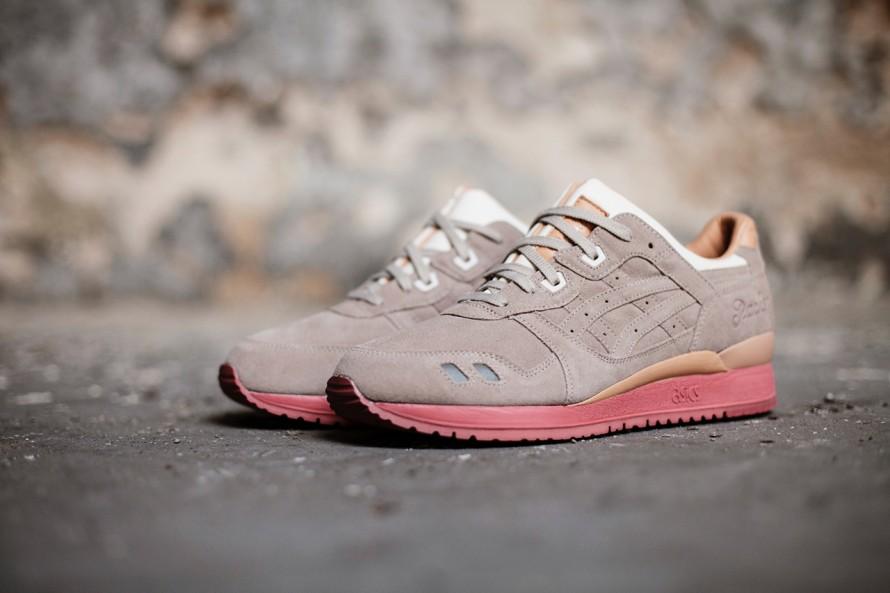 chaussures de sport 18578 894d9 Lyte 3 Gel Femme Asics Bordeaux lJcFTK1