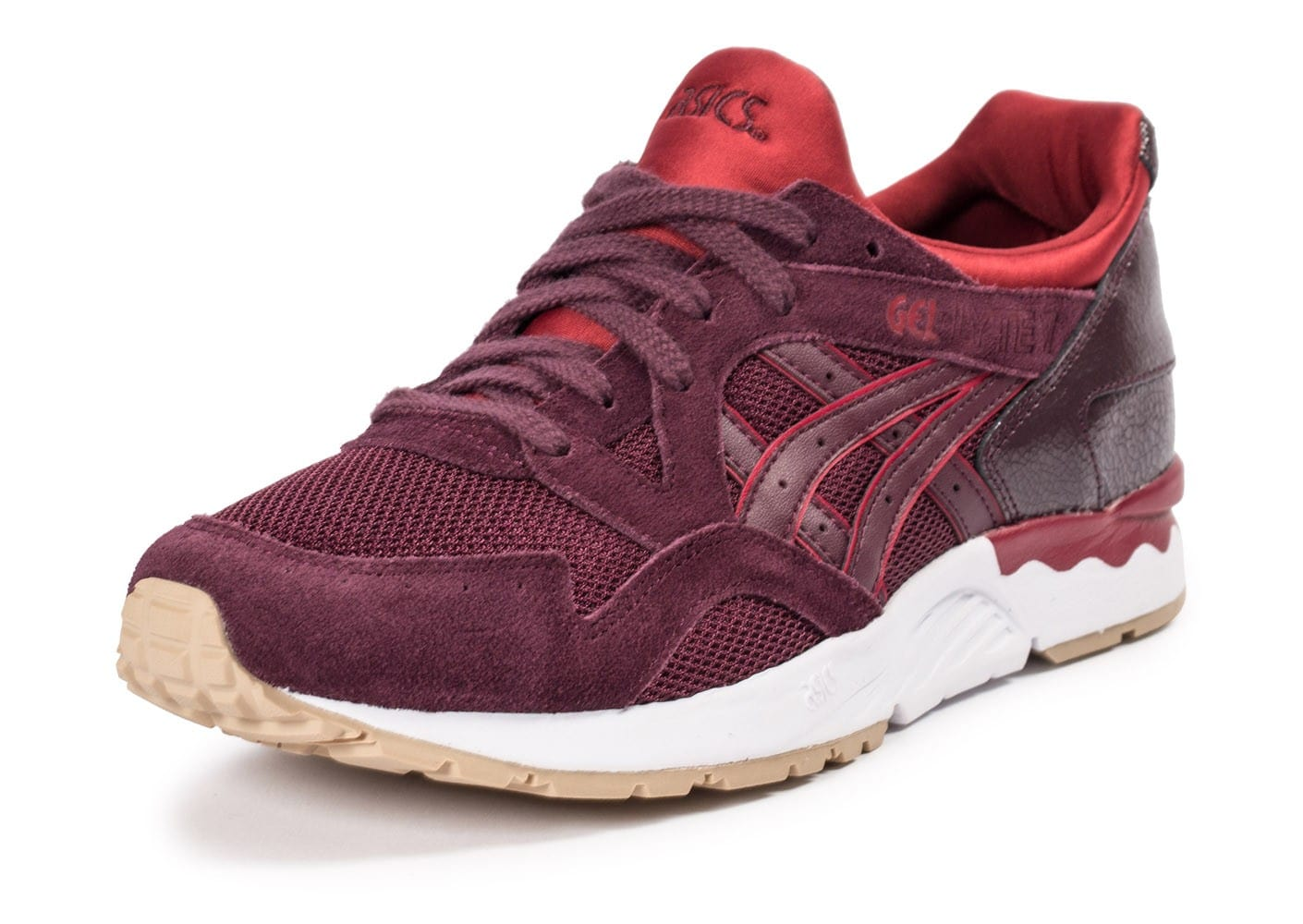asics rouge bordeaux