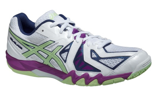competitive price f2220 7dd7d chaussures asics homme indoor gel blade 5 rouge
